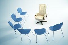 Lege stoelen - het concept van de Leiding royalty-vrije illustratie