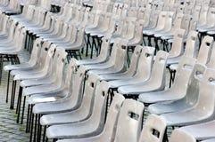 Lege stoelen voor massa. Vatikaan Royalty-vrije Stock Foto