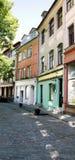Lege straat in het oude centrum Royalty-vrije Stock Fotografie