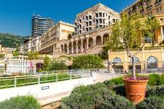 Lege straat van Monaco Stock Afbeelding