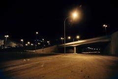 Lege straten Stock Foto
