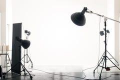 Lege studio royalty-vrije stock foto's