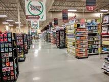 Lege supermarkt Stock Foto's
