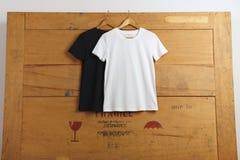 Lege t-shirtspresentatie Royalty-vrije Stock Afbeelding