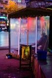 Lege Taxistandplaats Royalty-vrije Stock Foto's