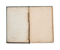 Lege titelpagina van oud boek Stock Afbeeldingen