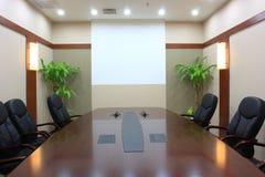 Lege vergaderingsruimte Stock Afbeelding