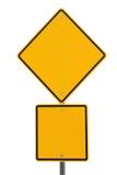Lege Verkeersteken Stock Fotografie