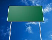 Lege verkeersteken stock afbeeldingen