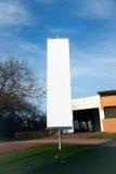 Lege verticale banner op het stadspark verticaal Royalty-vrije Stock Foto