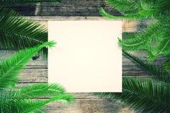 Lege vierkante affiche Stock Foto