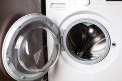 Lege wasmachine Royalty-vrije Stock Afbeeldingen