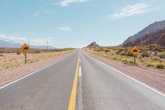 Lege weg - Ruta 52 Royalty-vrije Stock Afbeeldingen