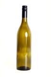 Lege wijnfles. Stock Afbeelding