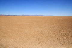 Lege woestijn Royalty-vrije Stock Foto's