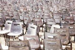 Lege zetels stock afbeelding