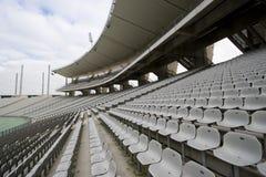 Lege Zetels bij het Stadion Stock Foto