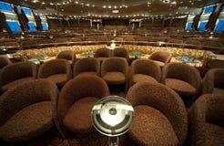 Lege Zetels in de Club van de Nacht royalty-vrije stock afbeeldingen