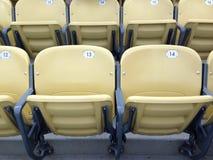 Lege zetels in een stadion Royalty-vrije Stock Afbeeldingen