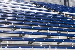 Lege zetels op het stadion Royalty-vrije Stock Foto's
