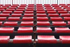 Lege zetels in stadion royalty-vrije stock fotografie