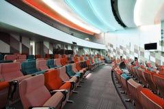Lege zetels voor bioskoop Stock Afbeelding