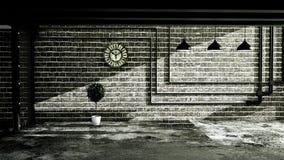Lege Zolderstijl, ruimte binnenlands ontwerp, Zolderstijl het 3d teruggeven royalty-vrije illustratie