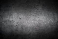 Lege zwarte concrete oppervlaktetextuur Royalty-vrije Stock Fotografie