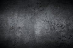 Lege zwarte concrete oppervlaktetextuur Stock Afbeeldingen