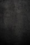 Lege zwarte concrete oppervlaktetextuur Royalty-vrije Stock Afbeelding