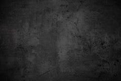 Lege zwarte concrete oppervlaktetextuur Stock Foto's