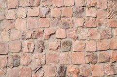 Legen der Backsteinmauer Lizenzfreie Stockfotografie