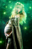 Legen Pregnant Stock Image