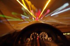 Legen Sie Auto einen Tunnel an Stockbild