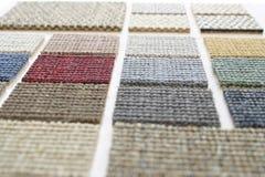 Legen Sie Beispielperspektive mit Teppich aus Lizenzfreie Stockbilder