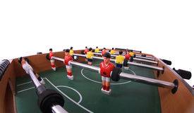 Legen Sie Fußball ver Lizenzfreies Stockbild