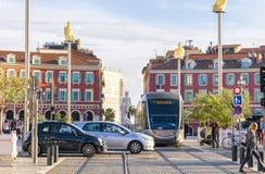 Legen Sie Massena in Nizza, Frankreich lizenzfreies stockbild