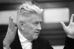 Legendärer amerikanischer Filmregisseur und Schauspieler David Lynch lizenzfreies stockfoto