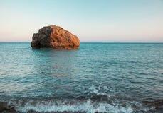 Legendärer Geburtsort der Aphrodite stockbild