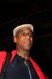 Schlagzeugerkünstler Omar Hakim Stockbild