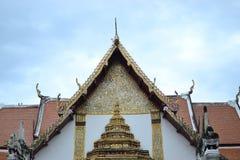 Legend av konst i Wat Phumin på Nan fotografering för bildbyråer