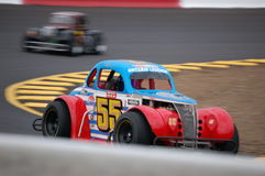 Legend Car Racing Royalty Free Stock Photo