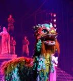Legend för handlingdrama av Kungfu, Peking, Kina royaltyfria bilder
