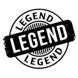 Legend rubber stamp. Grunge design with dust scratches. Effects can be easily removed for a clean, crisp look. Color is easily changed Royalty Free Stock Images