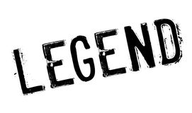 Legend rubber stamp. Grunge design with dust scratches. Effects can be easily removed for a clean, crisp look. Color is easily changed Stock Photos