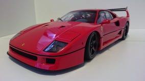 Ferrari F40 red racing car stock image