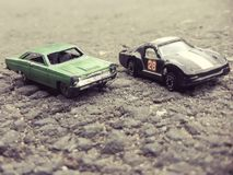 Toys cars. Green, black, silver, white, wheels, metal royalty free stock photos