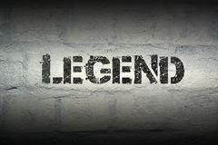 Legend word gr stock photos