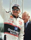 Legenda Dale Earnhardt de NASCAR imagens de stock
