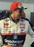 Legenda Dale Earnhardt de NASCAR fotografia de stock royalty free